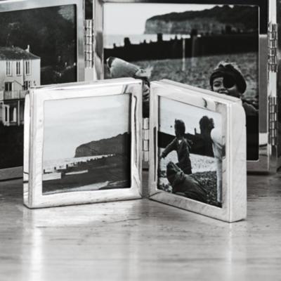 "Fine Silver Mini Hinged Photo Frame 2x2""   Photo Frames   The White ..."
