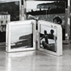 Fine Silver Mini Hinged Picture Frame 2x2""