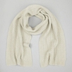 Tassel Cable Scarf