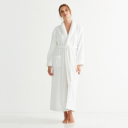 Shawl Collar Hydrocotton Robe