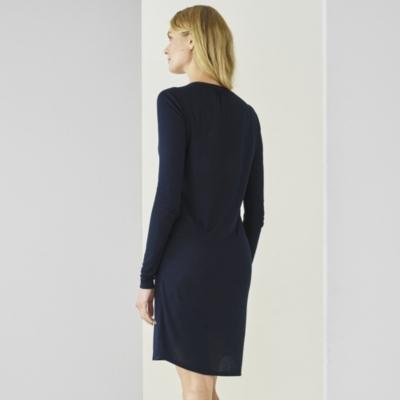 Viscose and Jersey Shirt Dress