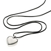 Silver Plated Pebble Heart