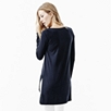 Step Hem Jersey Top - Navy