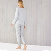 Stripe Henley Pajama Set