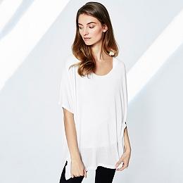 Split Hem Oversized T-Shirt