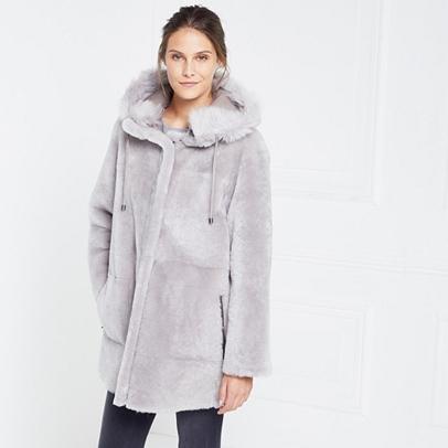 Reversible Sheepskin Parka Coat | Jackets & Coats | The White ...