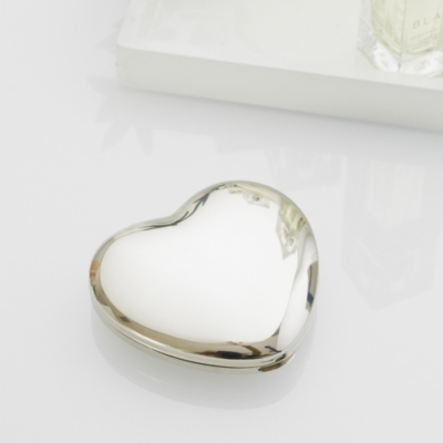 Silver Heart Compact
