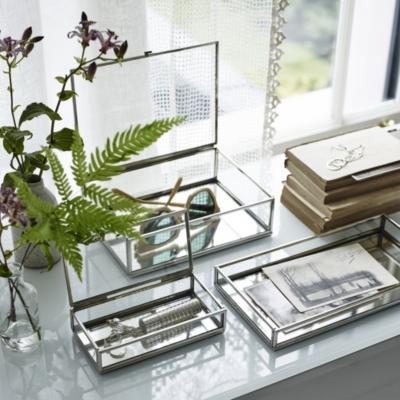 Glass Large Jewelry Box