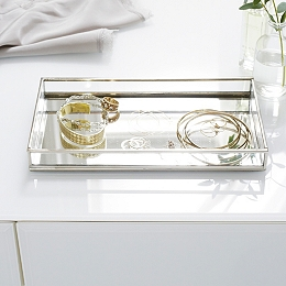 Glass Jewelry Tray