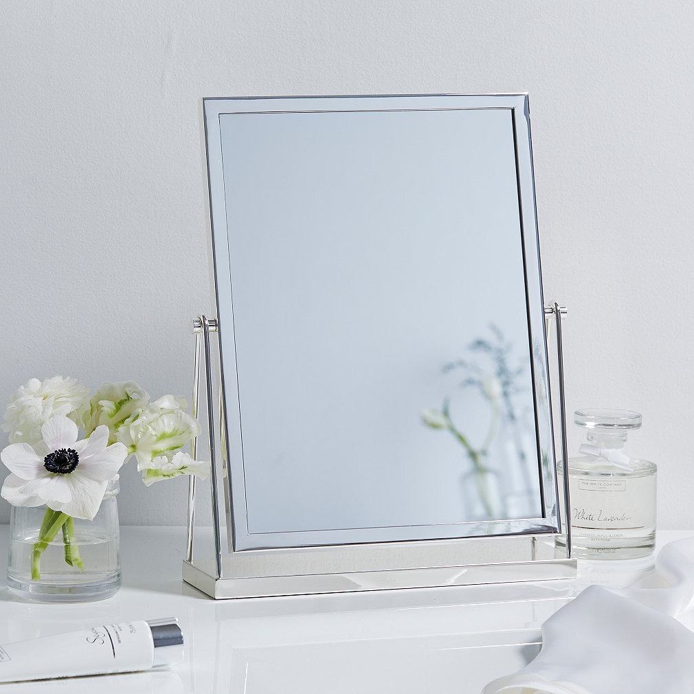 Awesome Silver Plated Dressing Table Mirror. Press To Zoom. Swipe For More Images.