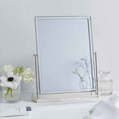 Silver Plated Dressing Table Mirror