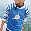 Shark Motif Sweater(4-10yrs)