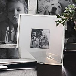 Fine Silver Photo Frame 3x3''
