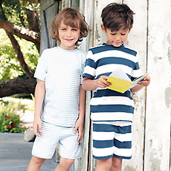 Striped Short Sleeve Pyjamas - 2 Pack