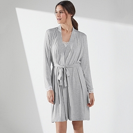 Jersey Stripe Robe