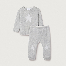 Cashmere Star Sweater & Leggings Set