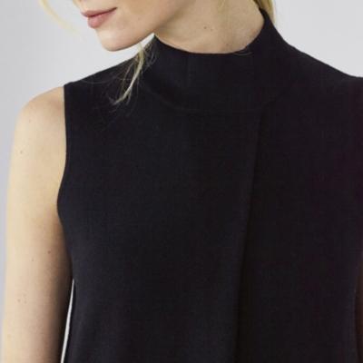 Sleeveless Knitted Dress