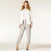 Silk Pants - Limestone