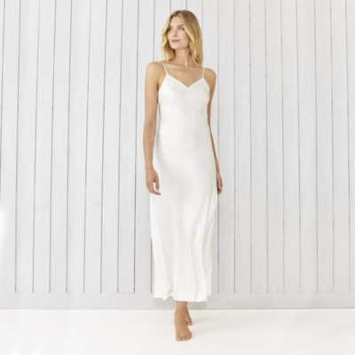 Long Silk Nightdress