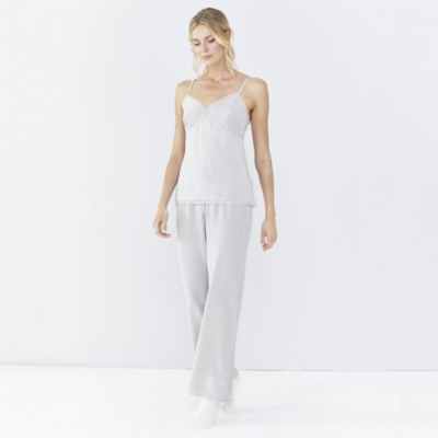 Lace Trim Cami & Pull-Ons