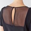 Silk Sheer Panel Top