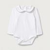 Sparkle Trim Collared Bodysuit