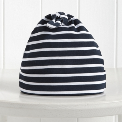 Stripe Knotted Hat
