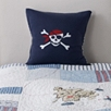Skull And Crossbone Cushion Cover