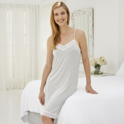 Stripe Lace Nightie