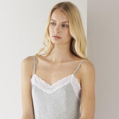 Contrast Lace Pyjama Set
