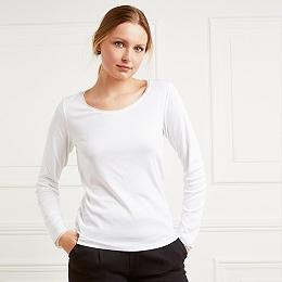 Silk Trim T-Shirt