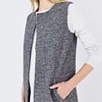 Sleeveless Speckled Cardigan