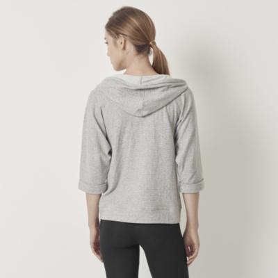 Three-Quarter Sleeve Hoodie