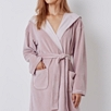 Short Lightweight Velour Robe