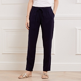 Slim Leg Drawstring Pants