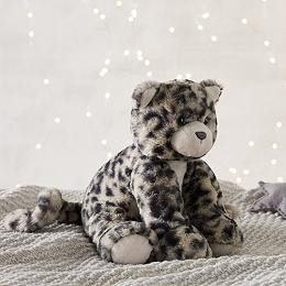 Snow Leopard Medium Soft Toy