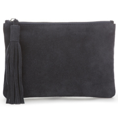 Small Suede Clutch