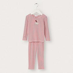 Seal Motif Stripe Jersey Pyjamas