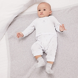 Snowy Mock Top Sleepsuit
