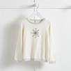 Sequin Snowflake Sweater