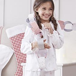 Snow Fairy Pyjamas - White