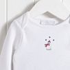 Snowman Embroidery Pajamas
