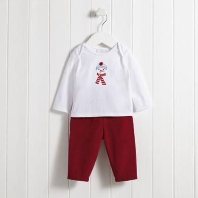 Snowman T-shirt & Pants Set