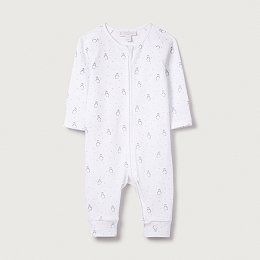 Snowy Zip Sleepsuit