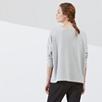 Cotton Slouchy Loopback Sweatshirt