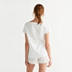 Lounge Slouchy T-Shirt - White