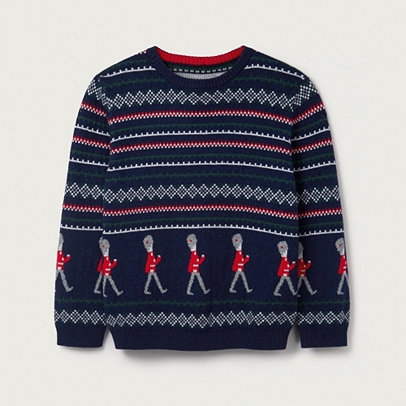 Soldier Fair Isle Jumper (2-6yrs) | Boys' Clothing | The White ...
