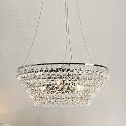 Glass Orb Chandelier Medium Ceiling Light