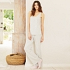 Stripe Pajama Bottom  - Cloud Marl