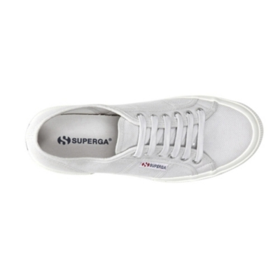 Superga Gray Canvas Plimsolls
